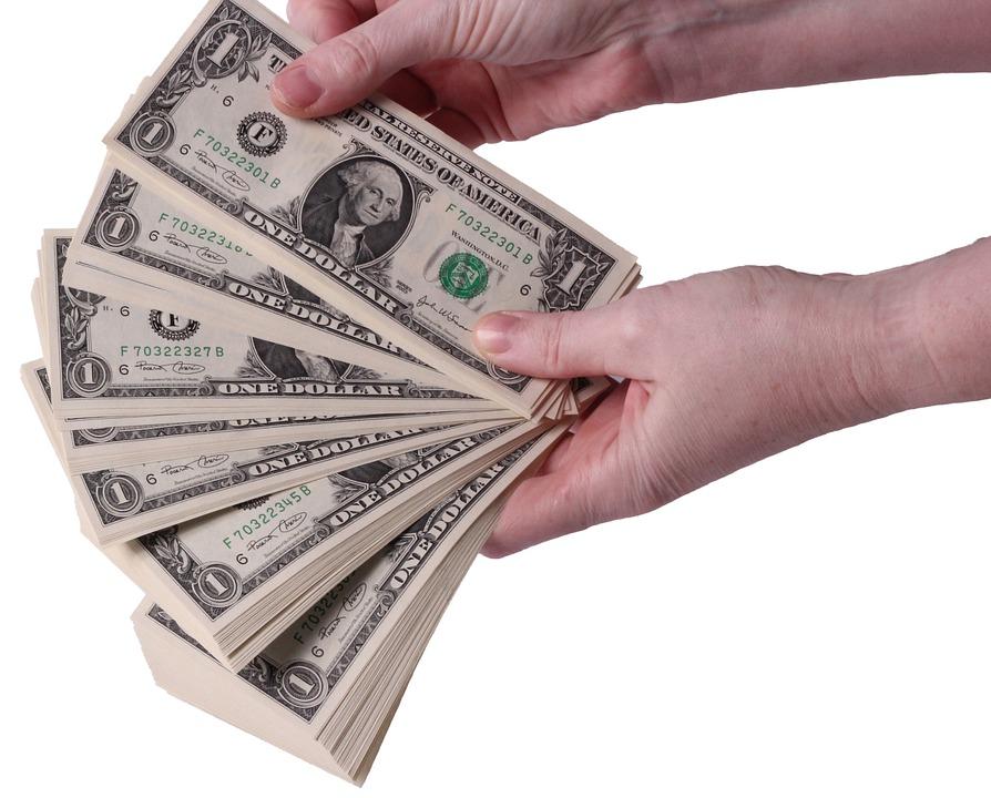 dolarový vějíř