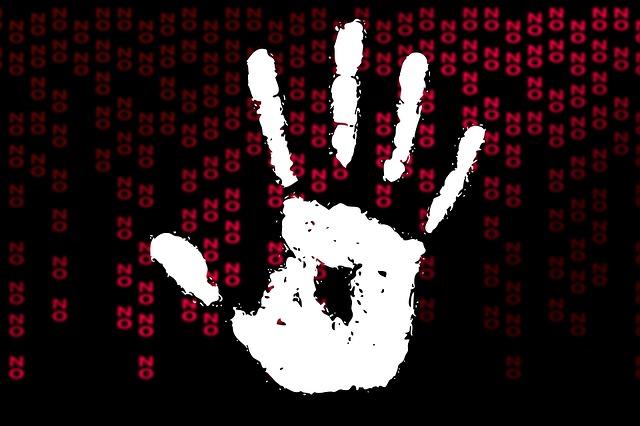 negativní gesto