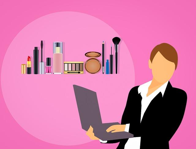 podnikatelka a šminky