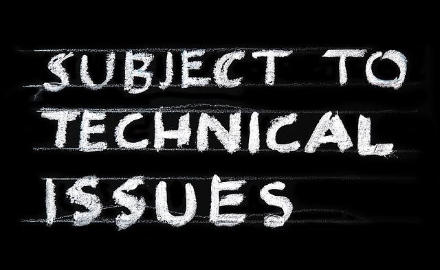 technické problémy