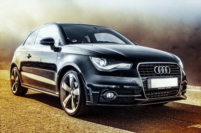Audi hezké auto