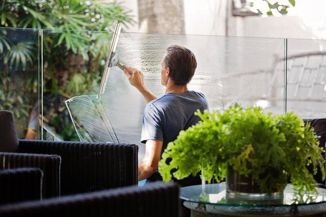umývání oken